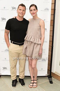 Sean Avery, Hilary Rhoda photo by Rob Rich/SocietyAllure.com © 2015 robwayne1@aol.com 516-676-3939