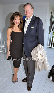 Susan Lucci, Helmut Huber attends the Hamptons Magazine Memorial Day Party at the Southampton residence of Jason Binn.photo by Rob Rich © 2009 robwayne1@aol.com 516-676-3939