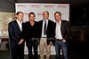 Stuart Match Suna, Greg Kinnear, Doron Weber and Marc Abraham<br /> photos by K.Doran for Rob Rich © 2008 516-676-3939 robwayne1@aol.com