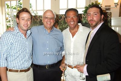 Brian Lorber, Howard Lorber, Glenn Myles, son
