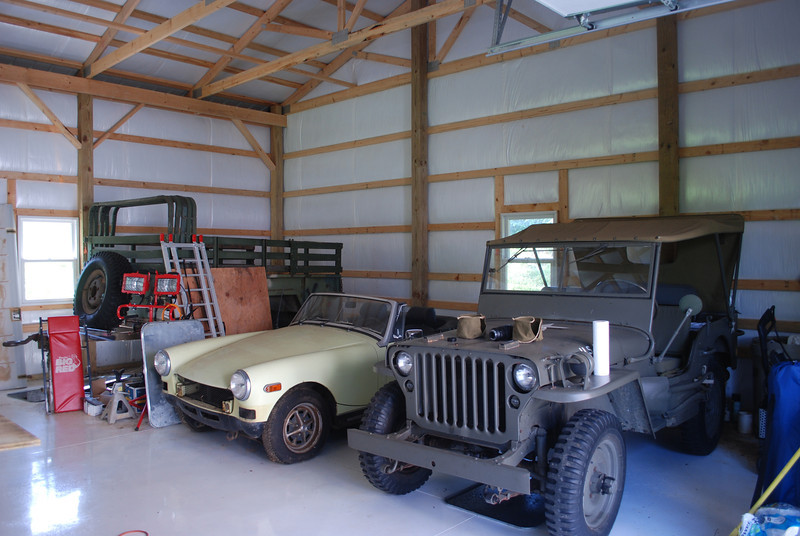 MG and 1942 Jeep.