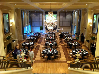 The event room at the Arkansas Governor's Mansion. Nice Place.
