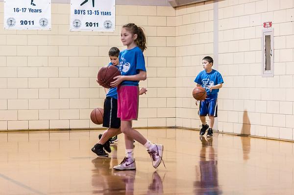 Hanna Basketball Nov 2013