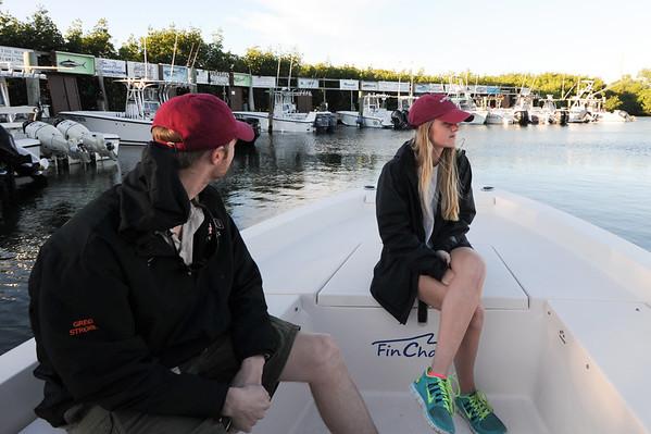 Hannah&Greg fishing