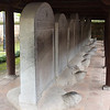 Stone stelae on tortoise bases with names of those granted doctorates dating back to 1400s