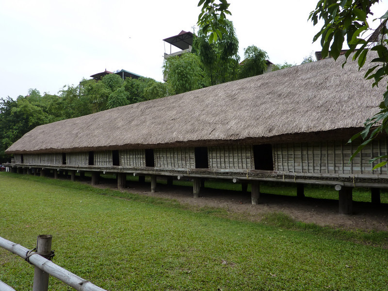 traditional longhouse, Museum of Ethnology
