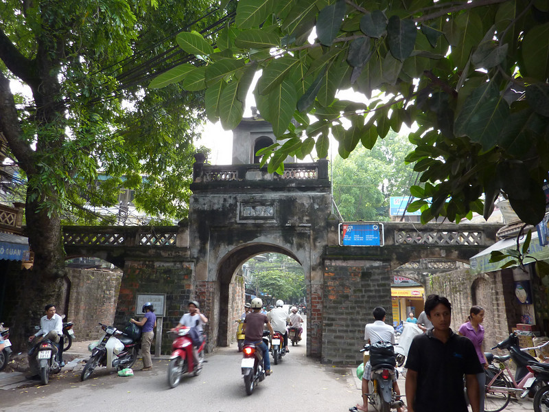 entrance through old city wall