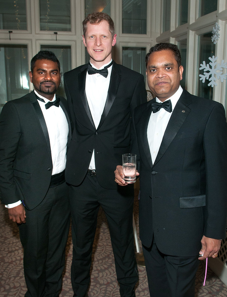 Basha Tamboli, Alistair Craig and Sunil Kanjanghat