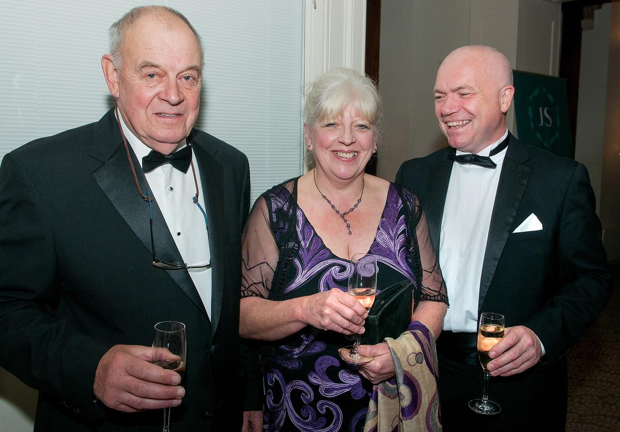 Roy Hunt, Sarah Hunt and Chris Wheeldon