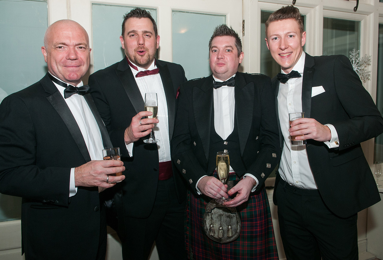 Chris Wheeldon, Michael Clitheroe, Paul MacDonald and Sam Pearson.
