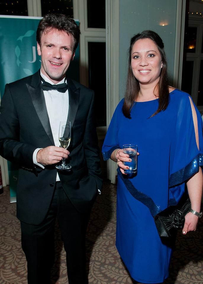 Tom Wakefield and Tara Humbert