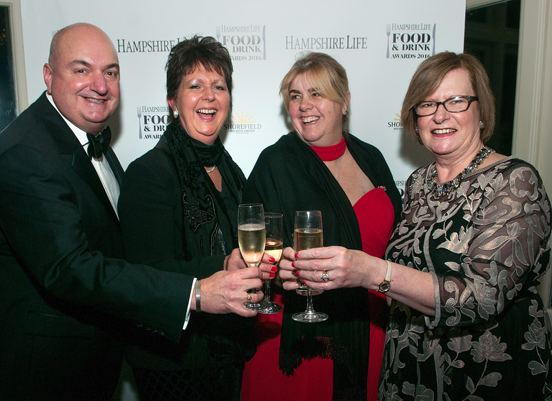 Mark Thornhill, Mandy Manning, Penny Thornhill and Jenny Jones