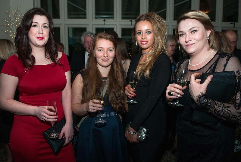 Emily Rogers, Hannah Attridge, Beth Sapsed and Chivaughn Carstens
