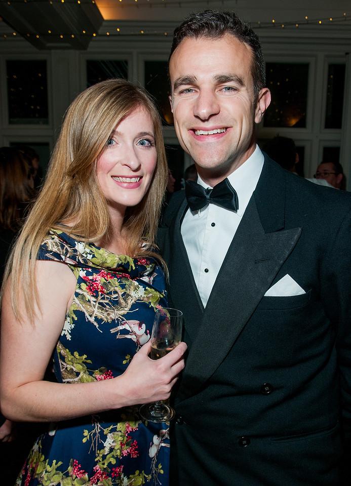 Angelina Barkett and Steve Harris