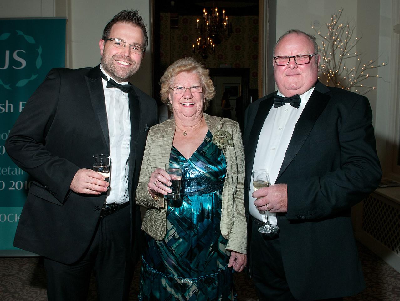 Wayne Berry, Beryl Horsburgh and Nick Horsburgh