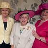 LtoR Dame Mary Fagan, Brenda Fletcher County Chairman and Jean Johnson.