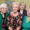 LtoR Brenda Fletcher, Mary Berry, Jean Johnson and Maureen Levenson.