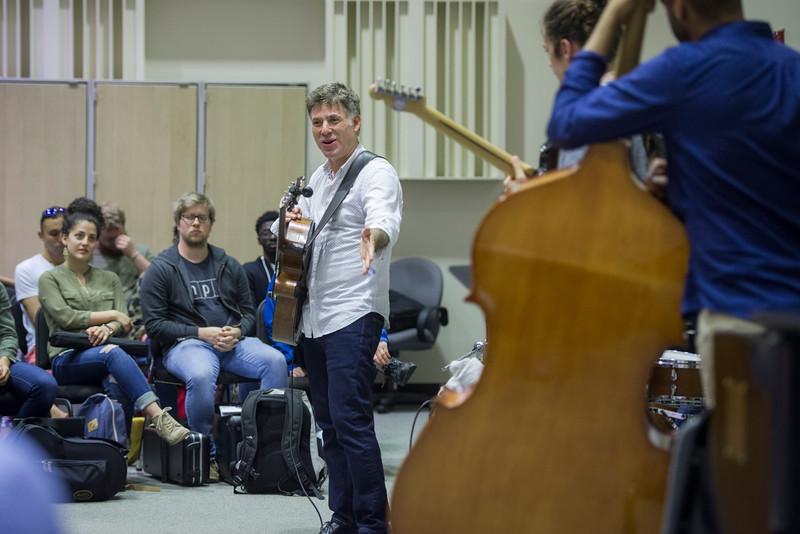 School of Music masterclass