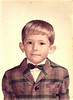 Wow, that's some plaid.  Probably a kindergarten me.