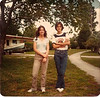 That's me and my GF in front of my house in 12th grade. Damn, I was thin.