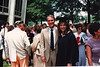 Spring of 1988.  Rena graduates from UNC-Charlotte posing with her dad