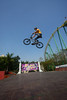 Olivier Brunelle flies high in the air