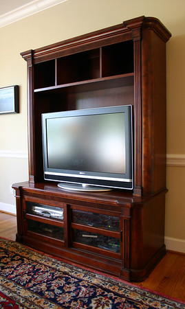 #5  REDUCED: $250  $$$SOLD$$$ Basset Entertainment Media Center:  $295 This is a sharp looking piece and not a common design!