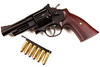 """S&W model 29-10 4"""" .44 magnum w/ Ahrends """"Retro Target"""" grips<br /> <br /> My grand-daddy always said """"Anchor the bacon boy.""""<br /> <br /> Never knew what the old coot was talking about until the first time I got to shoot a model 29."""