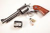 """Ruger 5 1/2"""" stainless Bisley Blackhawk convertible in .45 ACP / .45 Colt"""