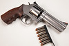"""S&W 686-6 4"""" .357 magnum w/ Ahrends grips"""
