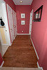 Hallway after refinishing.