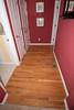 Hallway before refinishing.