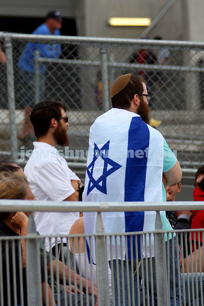 21/3/10. Harmony Cup football tounament at Whitten Oval. Israel v Lebanon. Photo: Peter Haskin