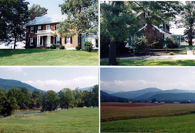 Various scenes of the residence and farm of Jeremiah & Elizabeth Harnsberger.