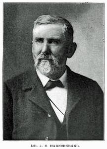 Picture of J. Samuel Harnsberger when older.