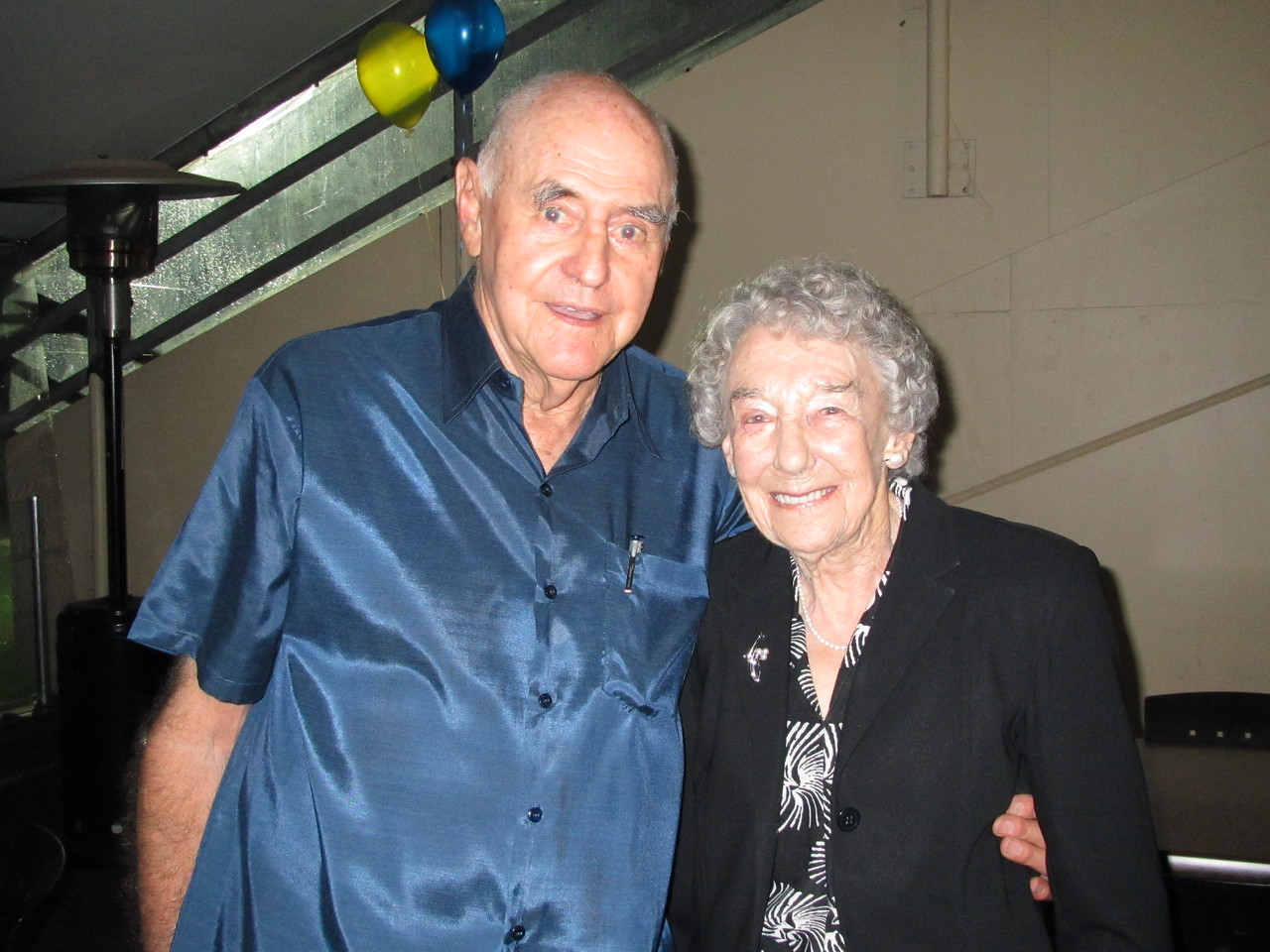 Harvey and Syb, Harvey's 80th Birthday Party, 2011