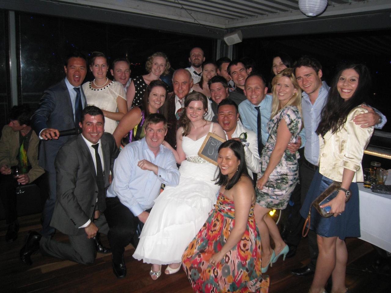 2012 Wedding later