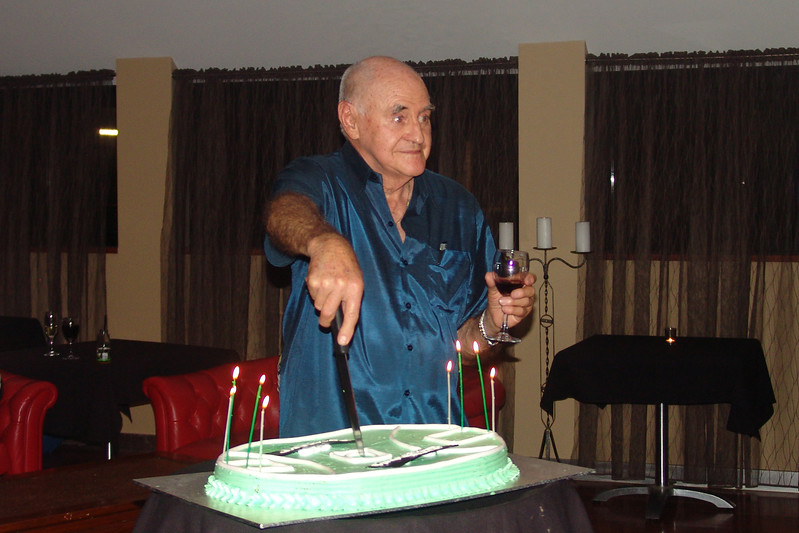Harvey's 80th Harvey Cake