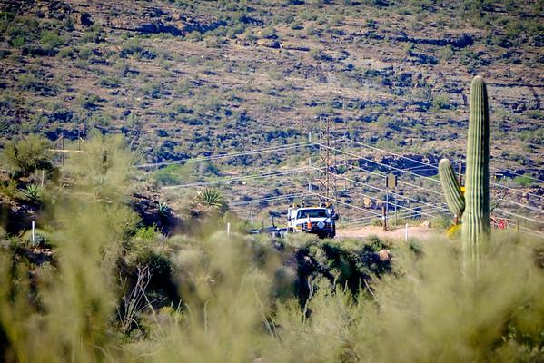 Hauling Horse Mesa Trip