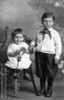 Chailett children holding Shelby bulb.