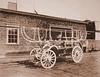 Old hose cart.