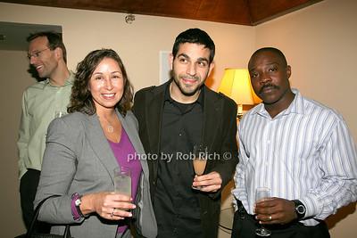 Christine Squillante, Rob Pachos, Richard Maathey photo by R.Cole for Rob Rich © 2008 robwayne1@aol.com 516-676-3939