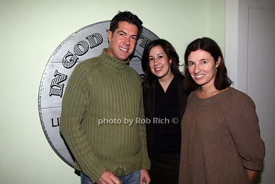 Robert Lopez, Sarah Greenwald, Stefania Girombelli photo by R.Cole for Rob Rich © 2008 robwayne1@aol.com 516-676-3939