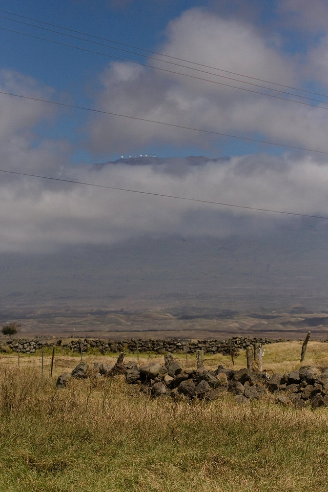 The telescopes at Mauna Kea.