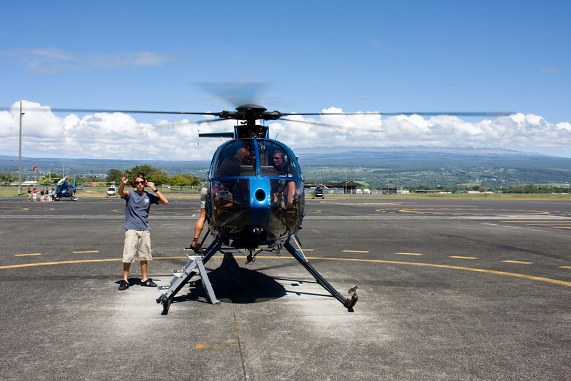 OK, I am afraid of heights, but I went on a Helicopter tour of the volcano & the waterfalls (with the doors off!). Kind of like being in a jeep at 200 mph 2500 ft above the ground.