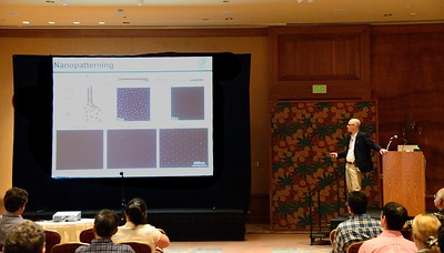 "The Plenary Address on ""Bio-Molecular and Cellular Assemblies at Interfaces"" is given by Prof. Joachim Spatz"