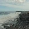 Black Sand Beach at Kalapana