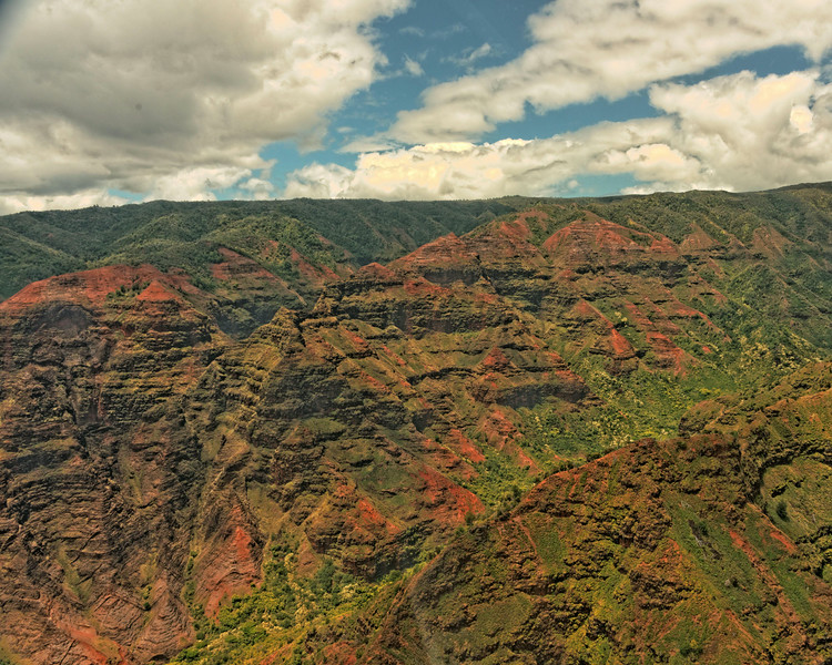 Grand Canyon f the Pacific, 10 miles long, 2 miles wide, 3,000 feet deep