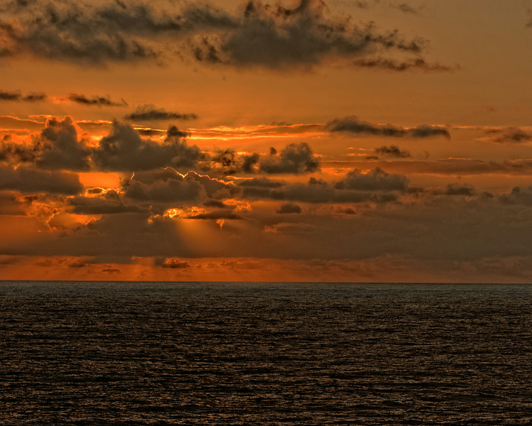 Ocean Sunrise - Hilo