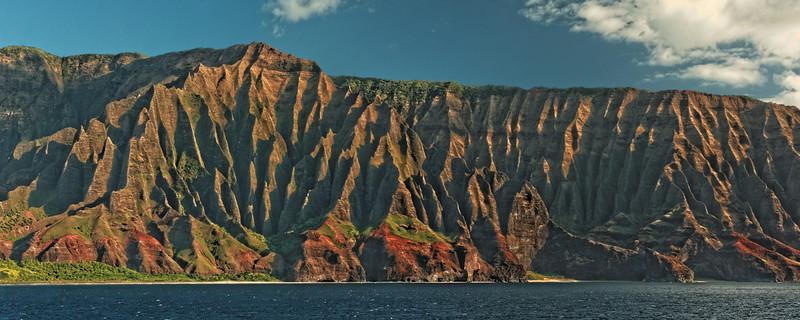 Napali Coast - Cathedral Cliffs